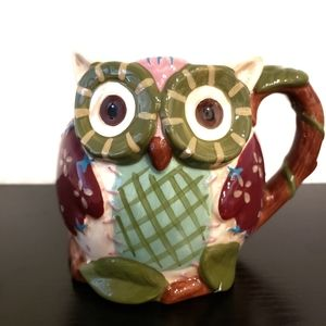 Pier 1 Imports Hand-painted Owl Coffee/Tea…